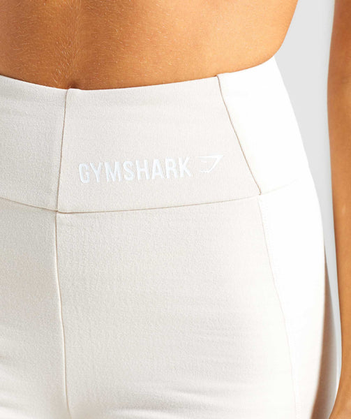 Gymshark Pastel Cycling Shorts - Sand 4