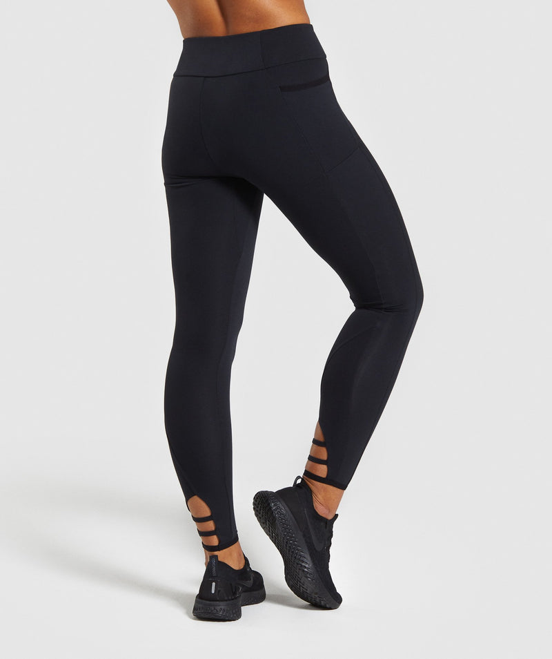 Gymshark Poise Leggings - Black