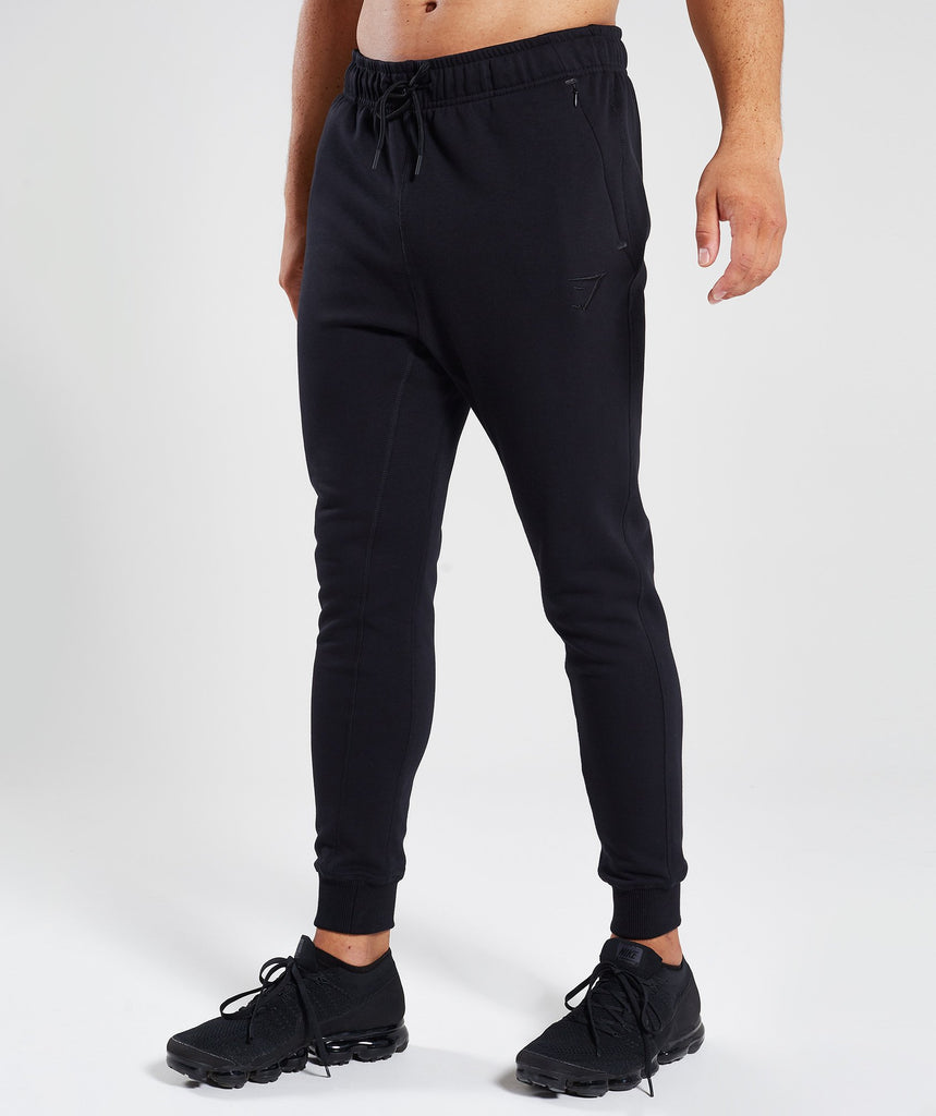 Gymshark Principle Bottoms - Black 1