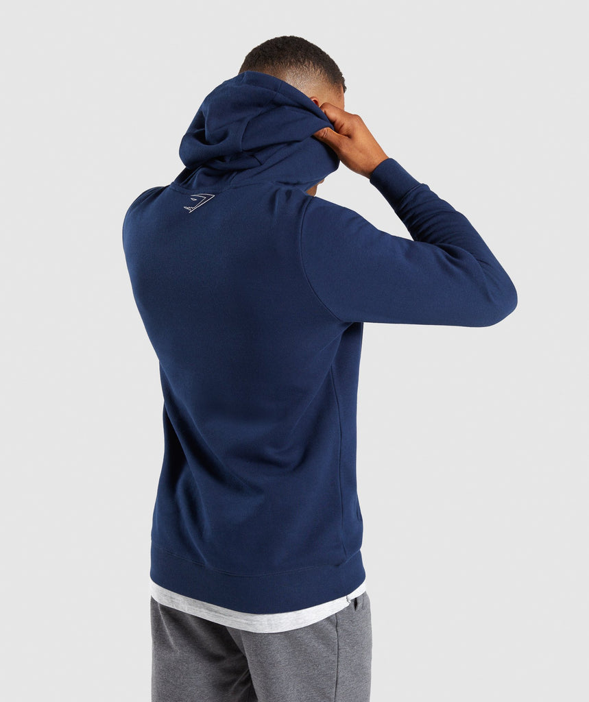 Gymshark Profile Pullover - Sapphire Blue 2