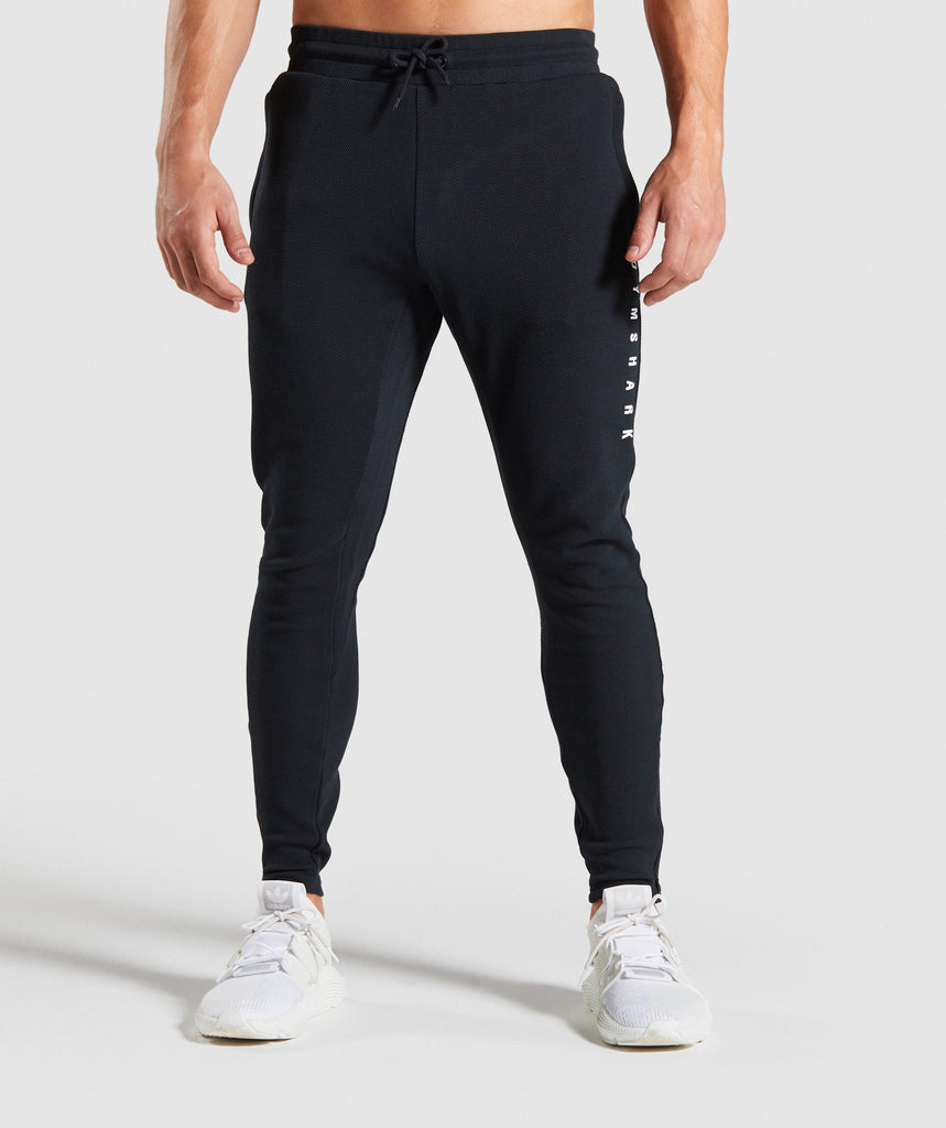 Gymshark Recharge Joggers - Black 1