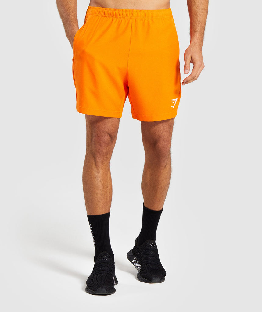 Gymshark Sport Shorts - Orange 1