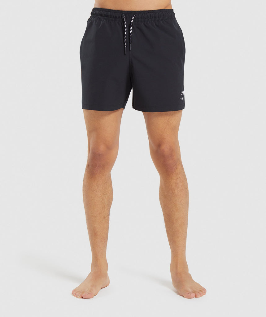 Gymshark Swim Shorts - Black 1