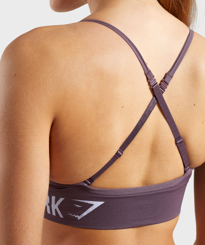 Gymshark Seamless Bralette - Purple Wash 6