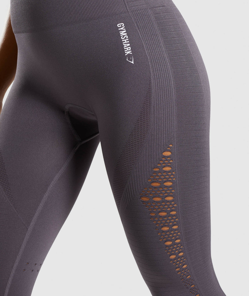 Gymshark Energy+ Seamless Leggings - Slate Lavender 5