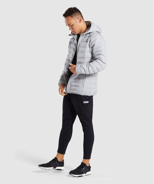 Gymshark Sector Jacket V2 - Light Grey 3