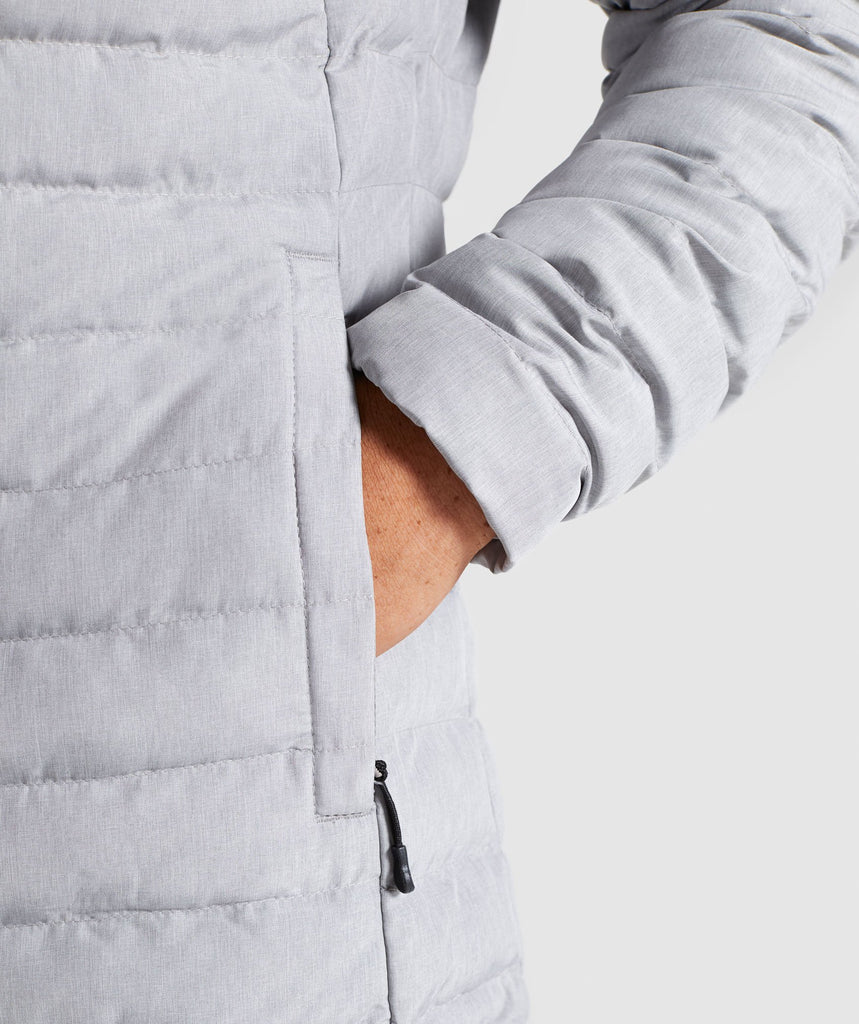 Gymshark Sector Jacket V2 - Light Grey 6