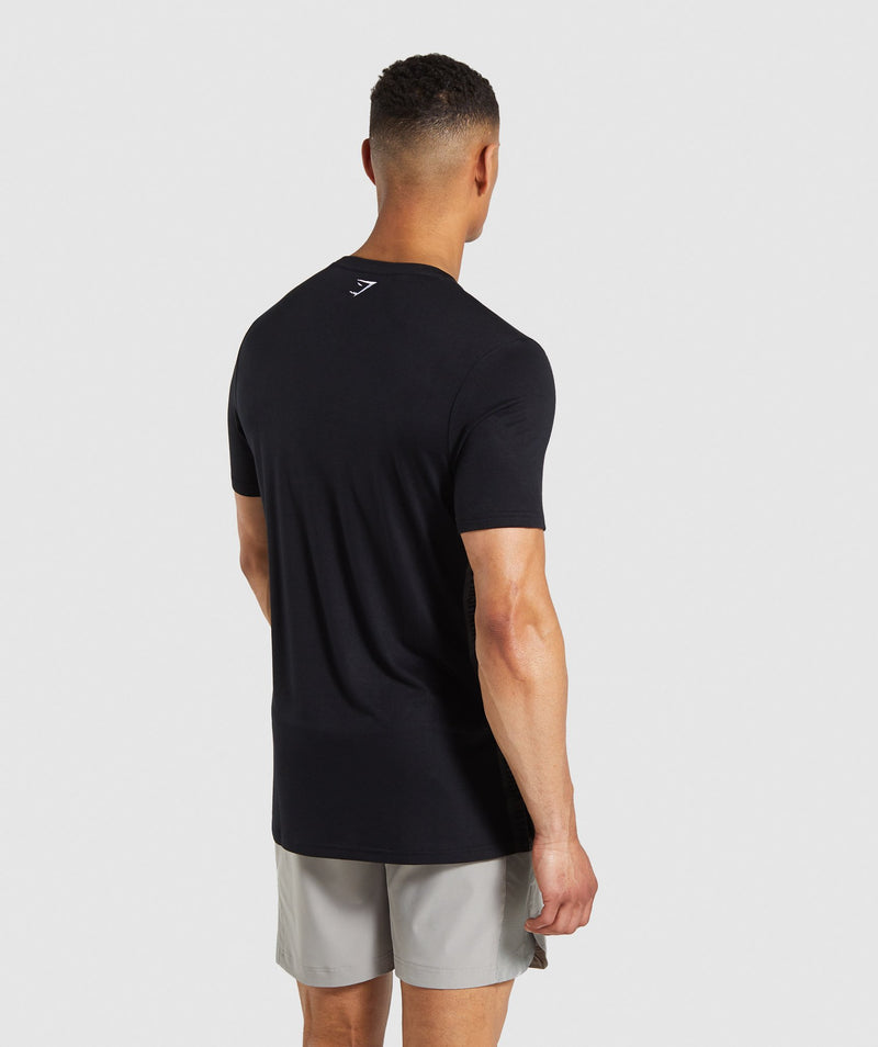 Gymshark Shadow T-Shirt - Black