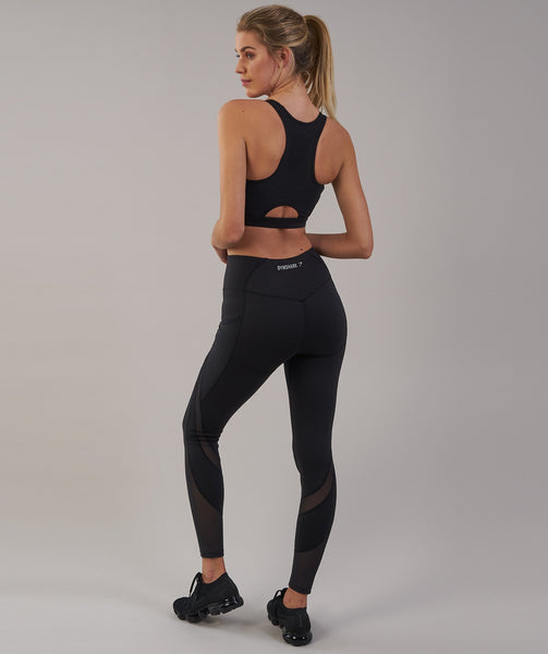 Gymshark Sleek Sculpture Leggings 2.0 - Black 2