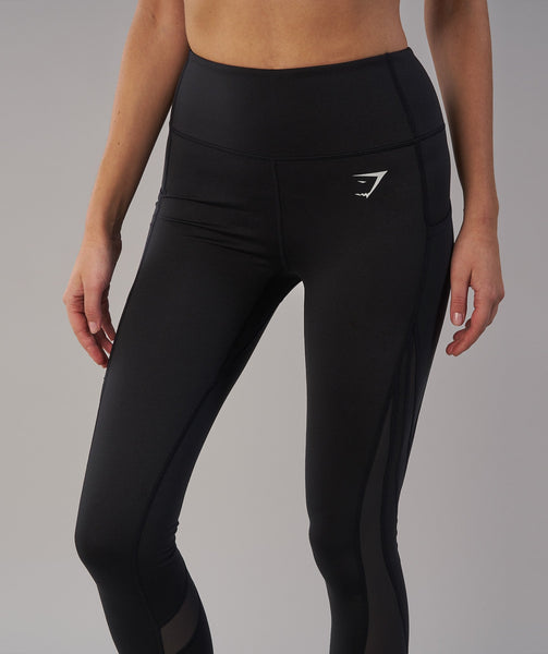 Gymshark Sleek Sculpture Leggings 2.0 - Black 1