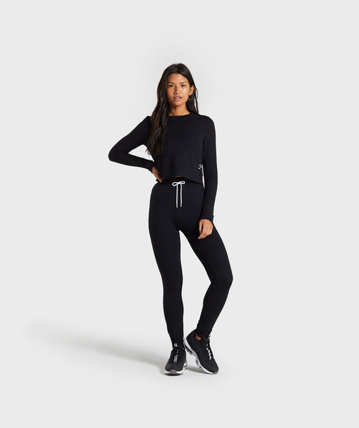 Gymshark Solace Sweater - Black 2