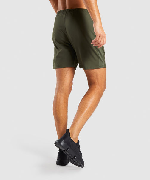 Gymshark Sport Shorts - Woodland Green 1