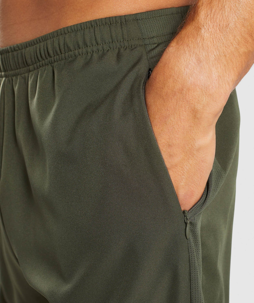 Gymshark Sport Shorts - Woodland Green 5