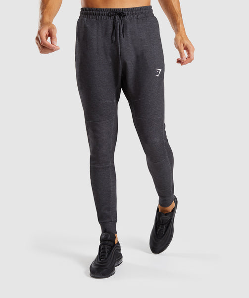 Gymshark Take Over Bottoms - Black Marl 4