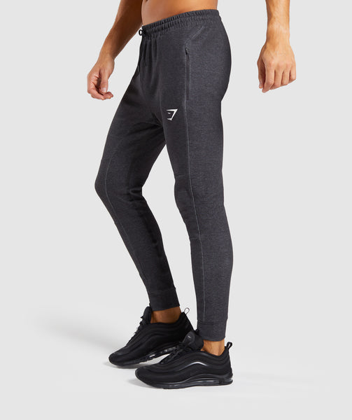 Gymshark Take Over Bottoms - Black Marl 2