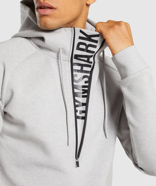 Gymshark Ultra Pullover - Light Grey Marl 3