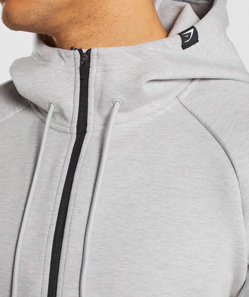 Gymshark Ultra Pullover - Light Grey Marl 5