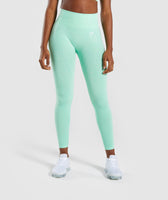 Gymshark Vital Seamless Leggings - Green 7