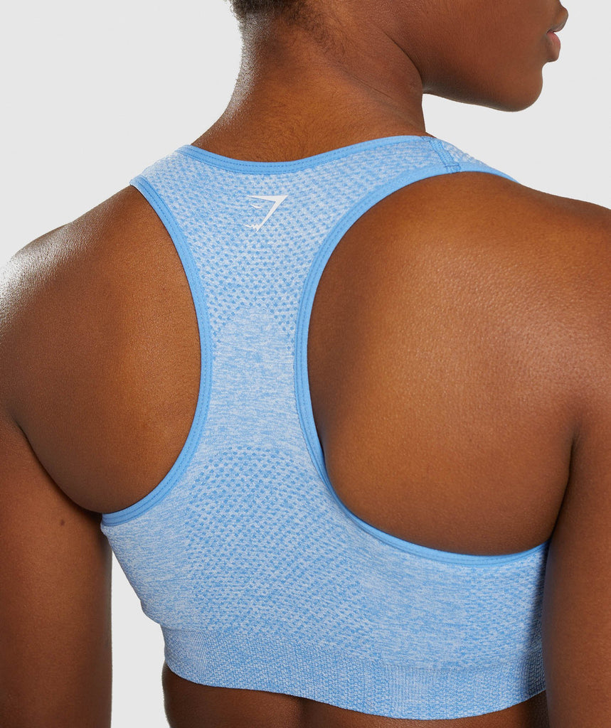 Gymshark Vital Seamless Sports Bra - Blue 6