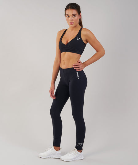 Gymshark Ark Jersey Leggings - Black 1