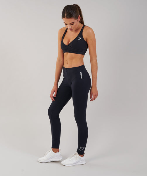 Gymshark Ark Jersey Leggings - Black 3