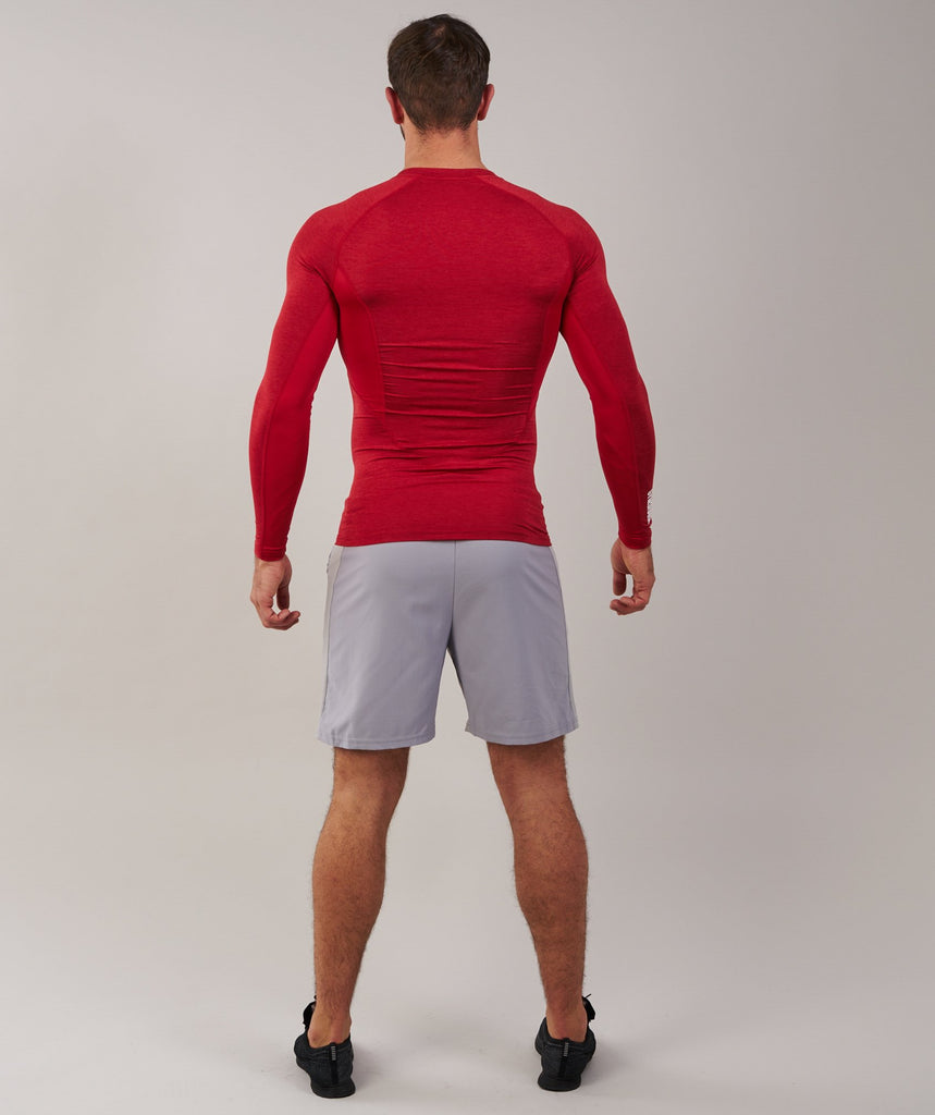 Gymshark Element Baselayer Long Sleeve Top - Deep Red 2