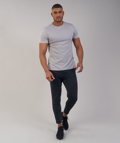 Gymshark Breathe T-Shirt - Light Grey Marl 2