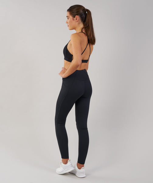 Gymshark DRY Sculpture Leggings - Black 2