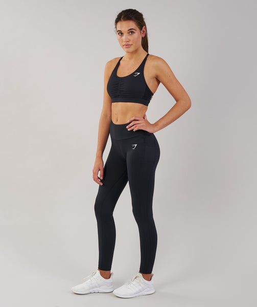 Gymshark DRY Sculpture Leggings - Black 3