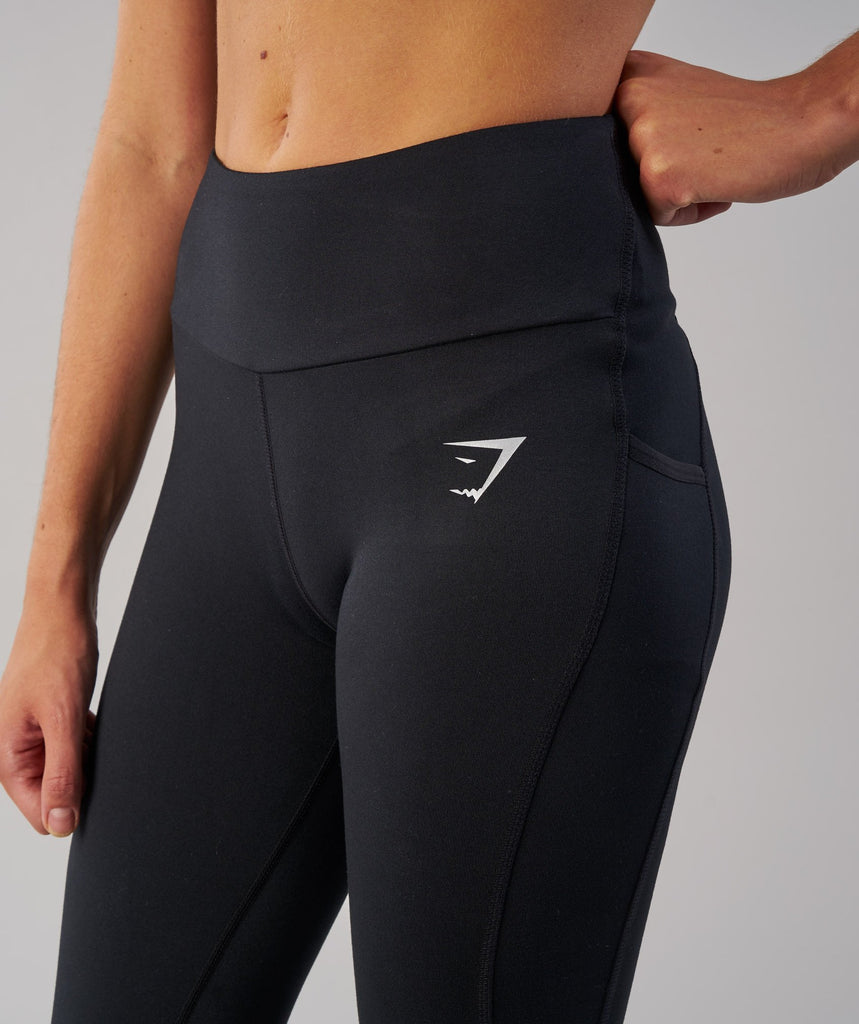 Gymshark DRY Sculpture Leggings - Black 5