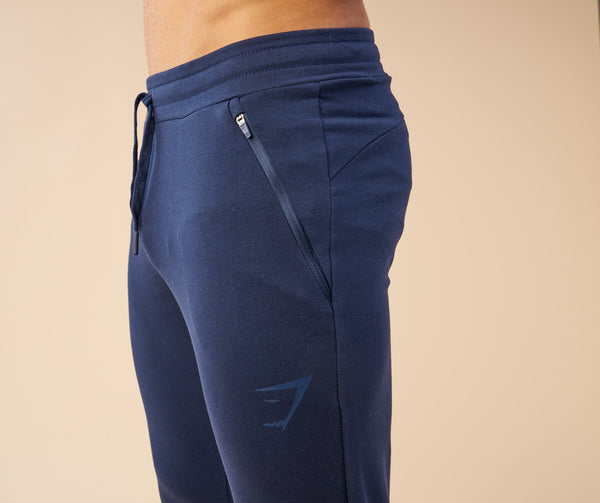 Gymshark Fit Tapered Bottoms - Sapphire Blue