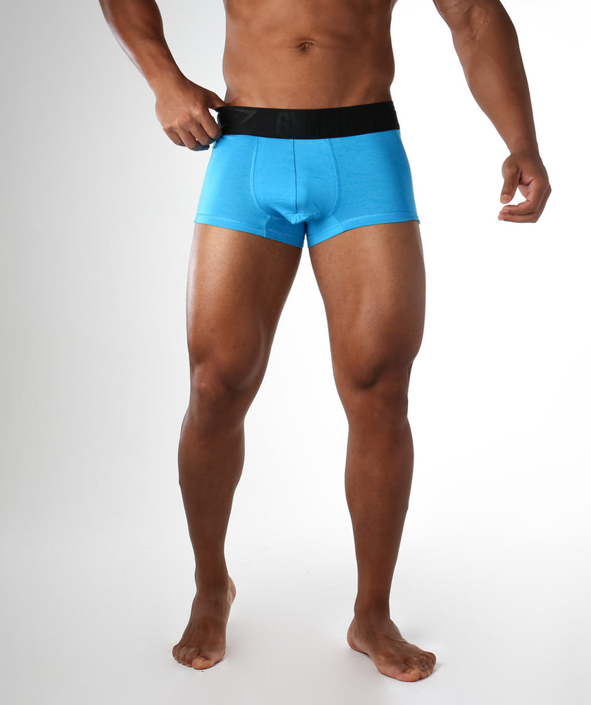 Gymshark Mens Hipsters 2pk - Blue