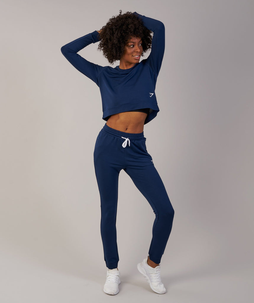 Gymshark Solace Sweater - Sapphire Blue 1