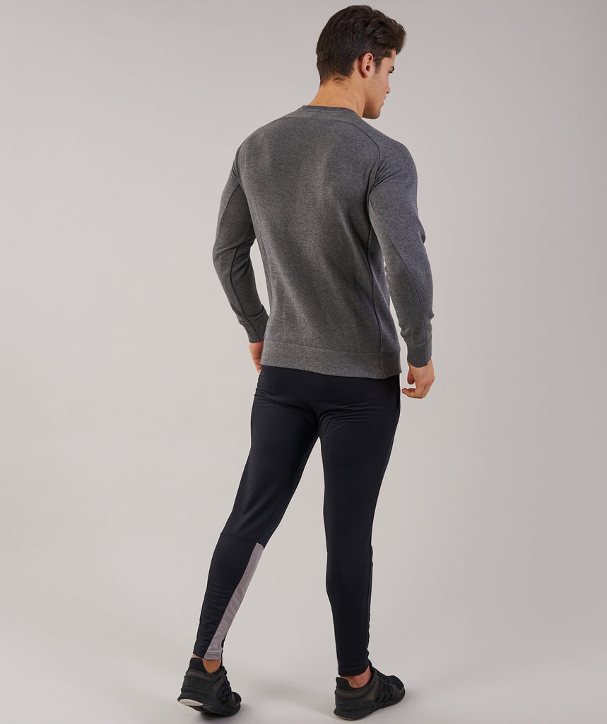 Gymshark Oversized Sweater - Charcoal Marl 2
