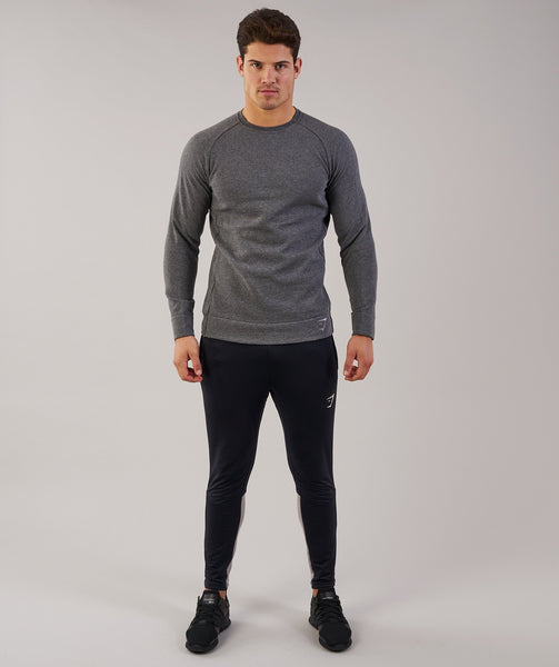 Gymshark Oversized Sweater - Charcoal Marl 3