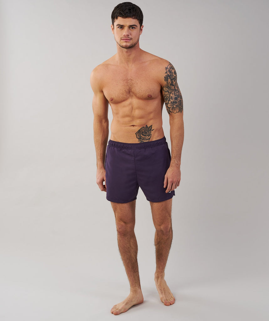 Gymshark Atlantic Swimshorts - Nightshade Purple 1