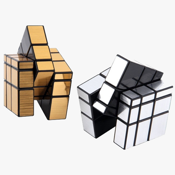Chrome Mirror Anti-Stress Fidget Cube