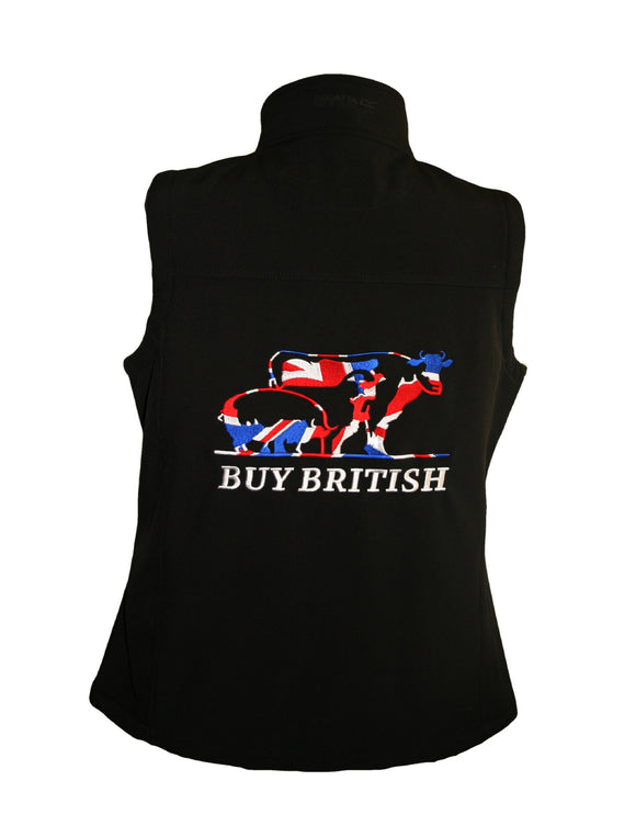BUY BRITSH SOFTSHELL GILET