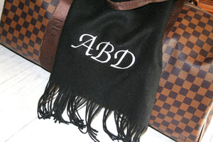 Personalised Wool Scarf