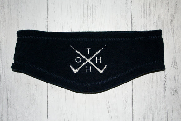 The Old Hunting Habit Fleece Headband- Navy