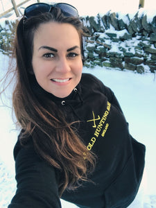 TOHH Charity Hoodie #1 Black & Yellow