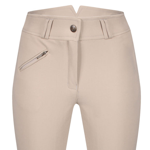 High Waisted Breeches - Suede Knee