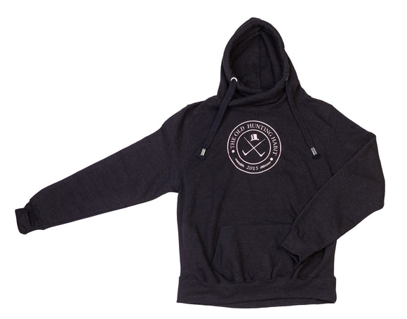 TOHH Cross Neck Metallic Hoodie