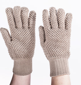 String Hunting Gloves- Eccru