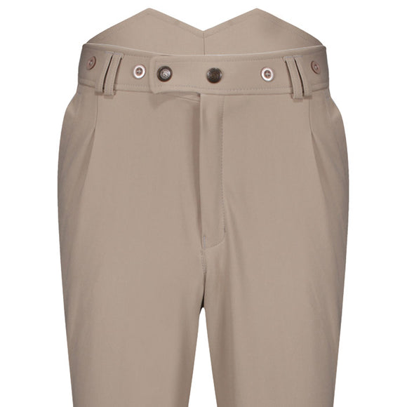 Beige High Waisted Breeches