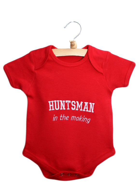 HUNTSMAN in the making Baby Bodysuit