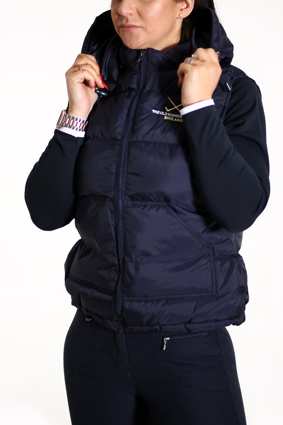 TOHH HOODED PADDED GILET