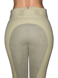 High Waisted Suede Seat Breeches