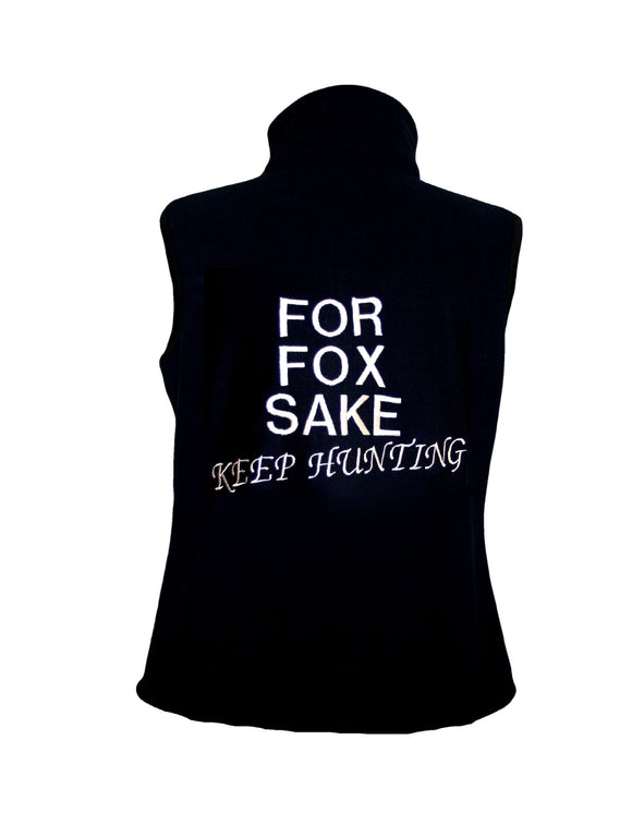 FOR FOX SAKE FLEECE GILET