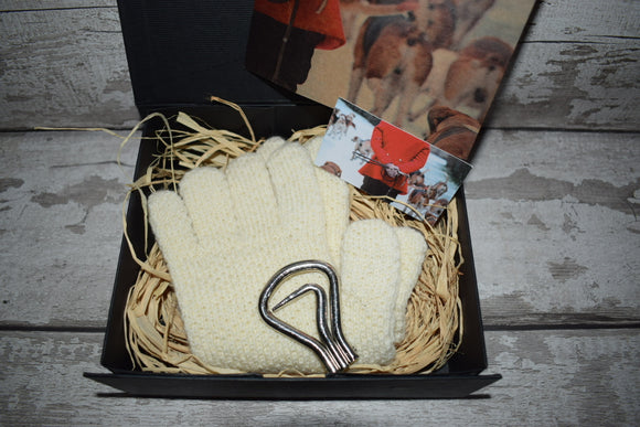 Wool Hunting Gloves Gift Box